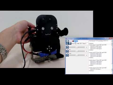 Embedded thumbnail for 小型ヒューマノイドの共通プラットフォームRTC群