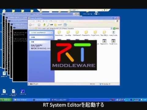 Embedded thumbnail for MobileRobots社ロボット用制御RTC